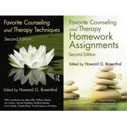 Favorite Counseling and Therapy Techniques / Favorite Counseling and Therapy Homework Assignments Package
