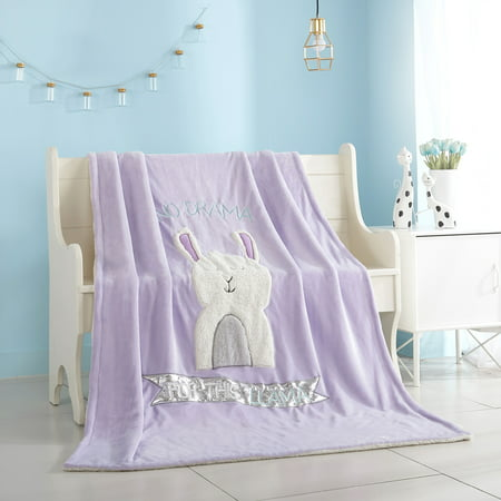 Better Homes And Gardens Kids Royal Plush No Drama Llama Throw Beauteous Llama Throw Blanket