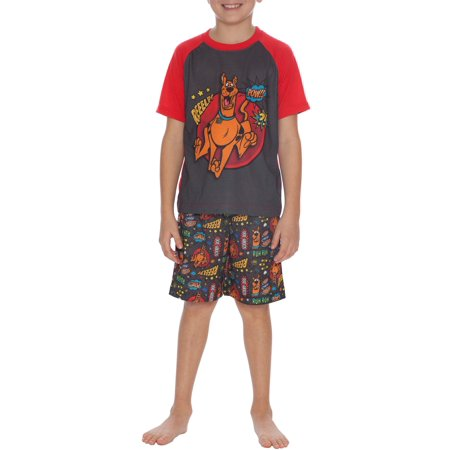 Boys' Scooby Doo 'Mystery Machine' 2 Piece Pajama Sleep Set (Little Boy & Big Boy)