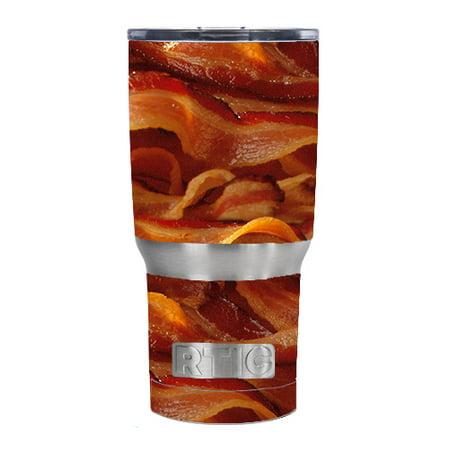 Skin Decal For Rtic20 Oz Rambler Tumbler / Bacon  Crispy (Best Way To Make Crispy Bacon)