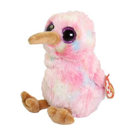 TY Beanie Boos - KIWI the Bird (Glitter Eyes) (Regular Size - 6 inch)