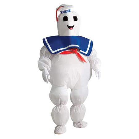 Morris Costumes RU884331 Stay Puft Inflatable Child Costume](Stay Puft Marshmallow Man Inflatable Lawn Decoration)