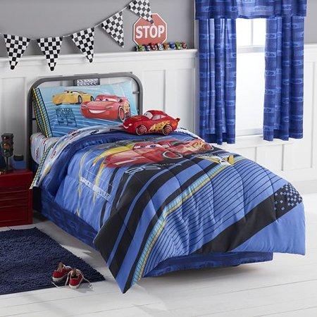 Disney Pixar Cars 3 Twin Comforter And Sheet Set By
