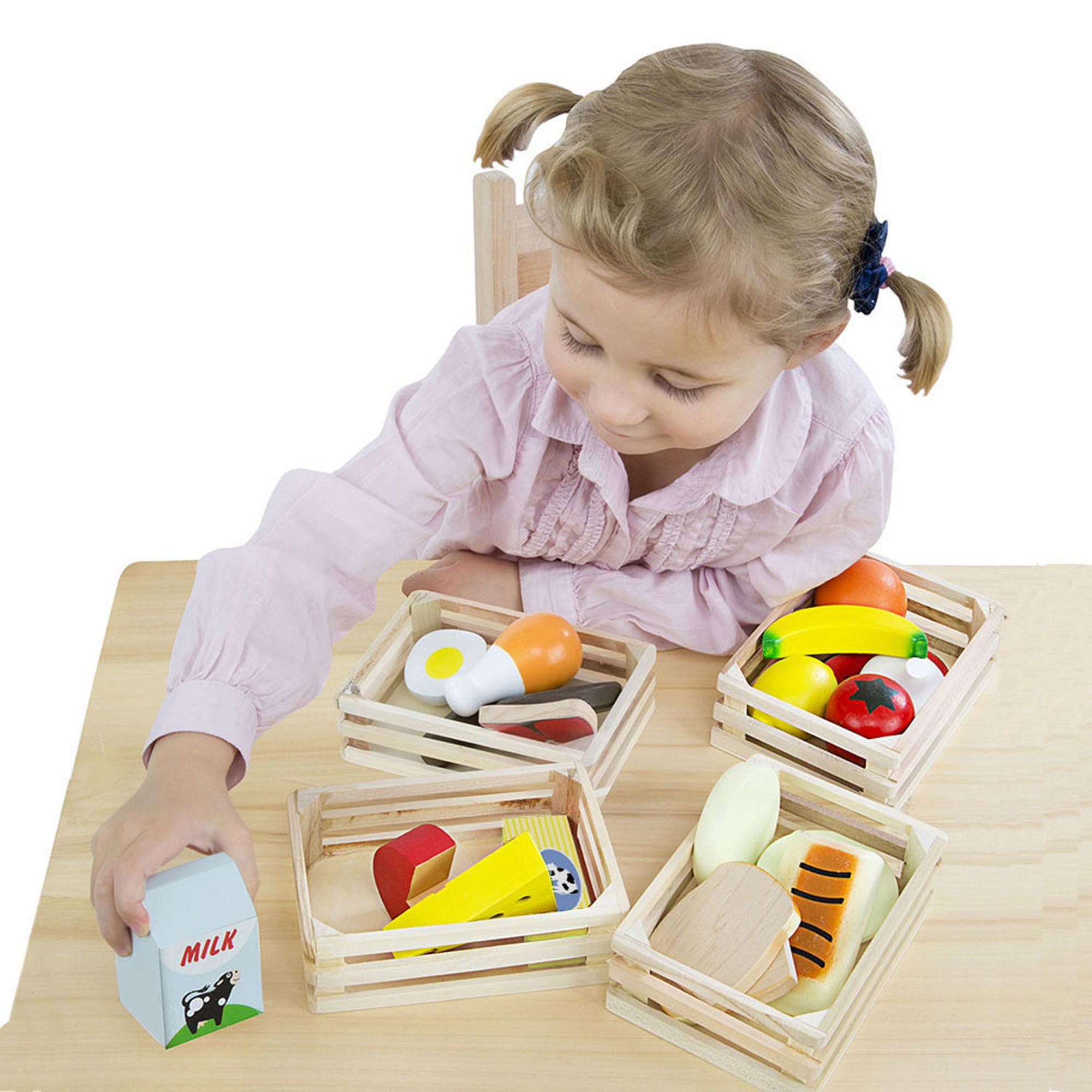 Preschool Toys Pretend Play Melissa Doug Food Groups