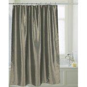 FSC15-FS-42 72 x 72 in. Shimmer Faux Silk Shower Curtain, Sage