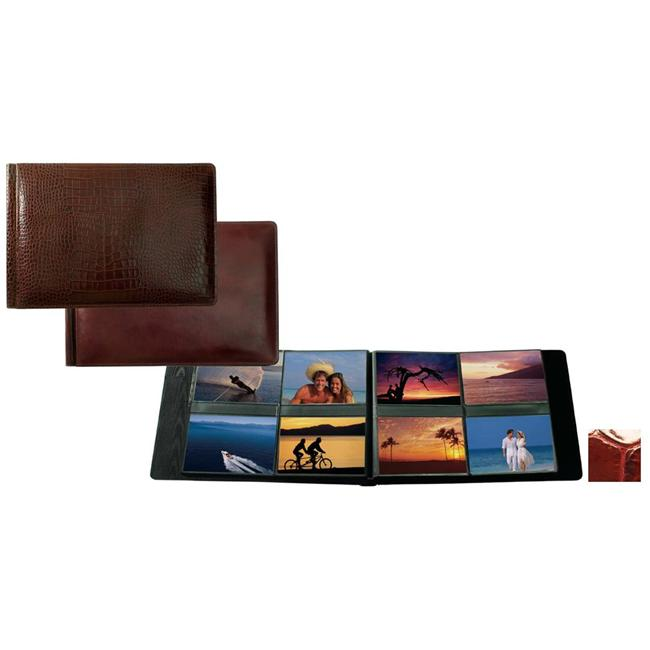 Raika NI 178 RED 4inch x 6inch Album with 8 Photos Page - Red