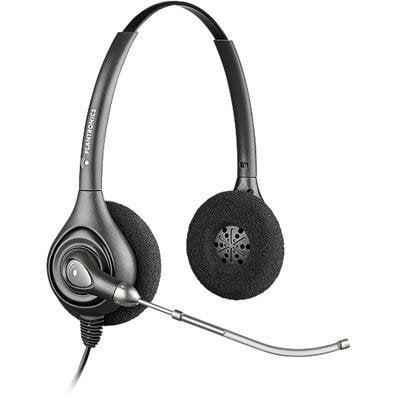 PLNHW261 - Plantronics SupraPlus HW261 Wideband Binaural Headset Plantronics Supraplus Binaural Headset