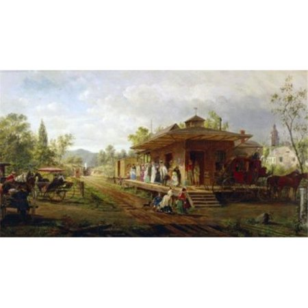 Posterazzi SAL900128649 Station at Orange New Jersey Edward Lamson Henry 1841-1919 American Poster Print - 18 x 24 in. - image 1 de 1