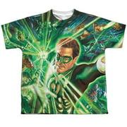 Green Lantern Lantern Burst Big Boys Sublimation Shirt