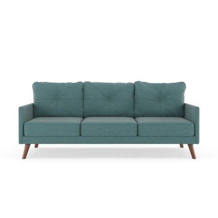 Pleasing Gentry Sofa Linen Weave Stone Blue Walmart Com Gamerscity Chair Design For Home Gamerscityorg