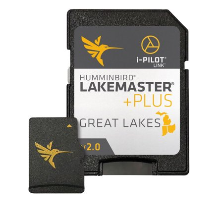 Humminbird 600015-6 LakeMaster PLUS Digital GPS Map Card - Great Lakes V2 ()