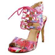 Thalia Sodi Rhumba Women  Open Toe Synthetic Pink Sandals