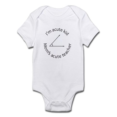 e1dded1a6bb CafePress - Im Acute Kid Moms Acute Teacher Body Suit - Baby Light Bodysuit  - Walmart.com