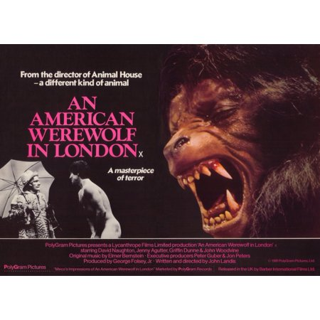 An American Werewolf In London  1981  11X14 Movie Poster