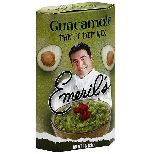 Emeril's Kicked Up Guacamole Party Dip Mix, 1 oz (Pack of 12)