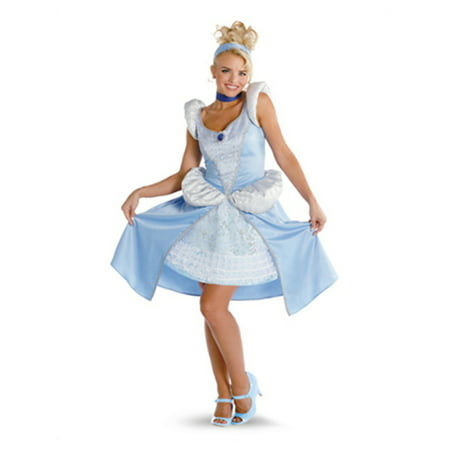 Quality Costumes Australia (Womens Medium 7-9 Prestige Quality Sassy Disney Princess Cinderella)