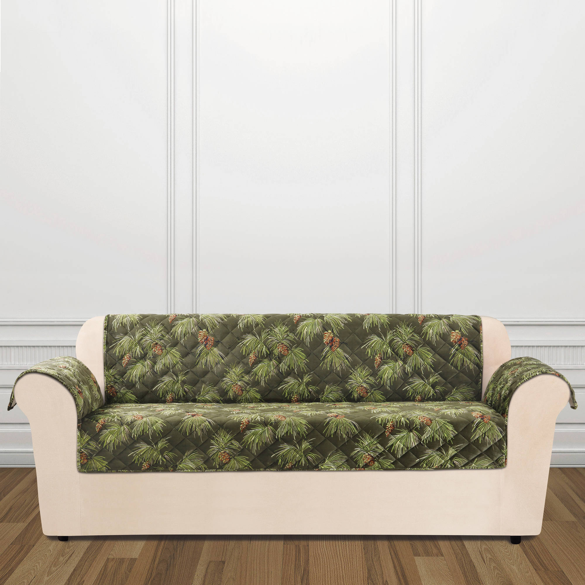 Sure Fit Holiday Furniture Sofa Slip Cover