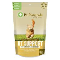 Pet Naturals of Vermont UT Support for Cats, Urinary Tract Supplement, 60 Bite-Sized Chews