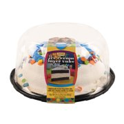Jon Donaire 8 Inch Decorated Chocolate Cake Filled With Vanilla Ice Cream 34oz