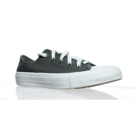 Converse Womens Grey Fashion Sneaker Size 5.5