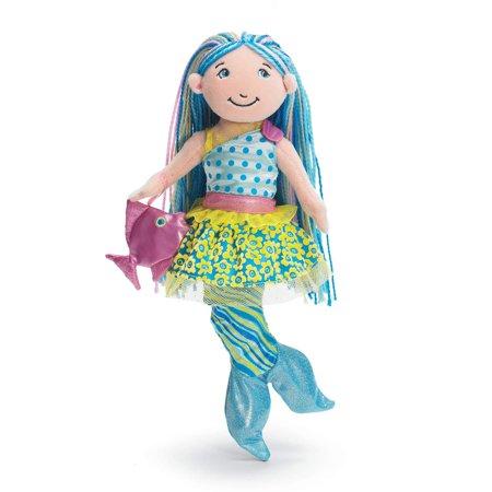 Groovy Girls Mermaid - Groovy Girls Aqualina Mermaid Fashion Doll, From Manhattan Toy's multiple award-winning Groovy Girls collection of soft fashion dolls and.., By Manhattan Toy