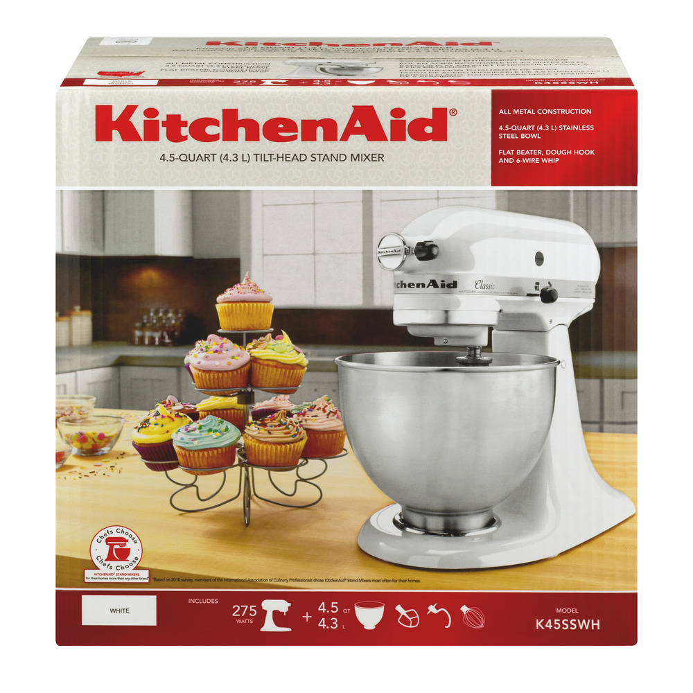 Kitchenaid Classic Plus 45 Qt Stand Mixer kitchenaid® classic™ series 4.5 quart tilt-head stand mixer