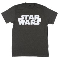 Star Wars - Simplest Logo Apparel T-Shirt - Grey