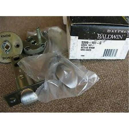Baldwin New Machanics Repair Kit G For Sectional & Escutcheon Handlesets with Knob 5399003G