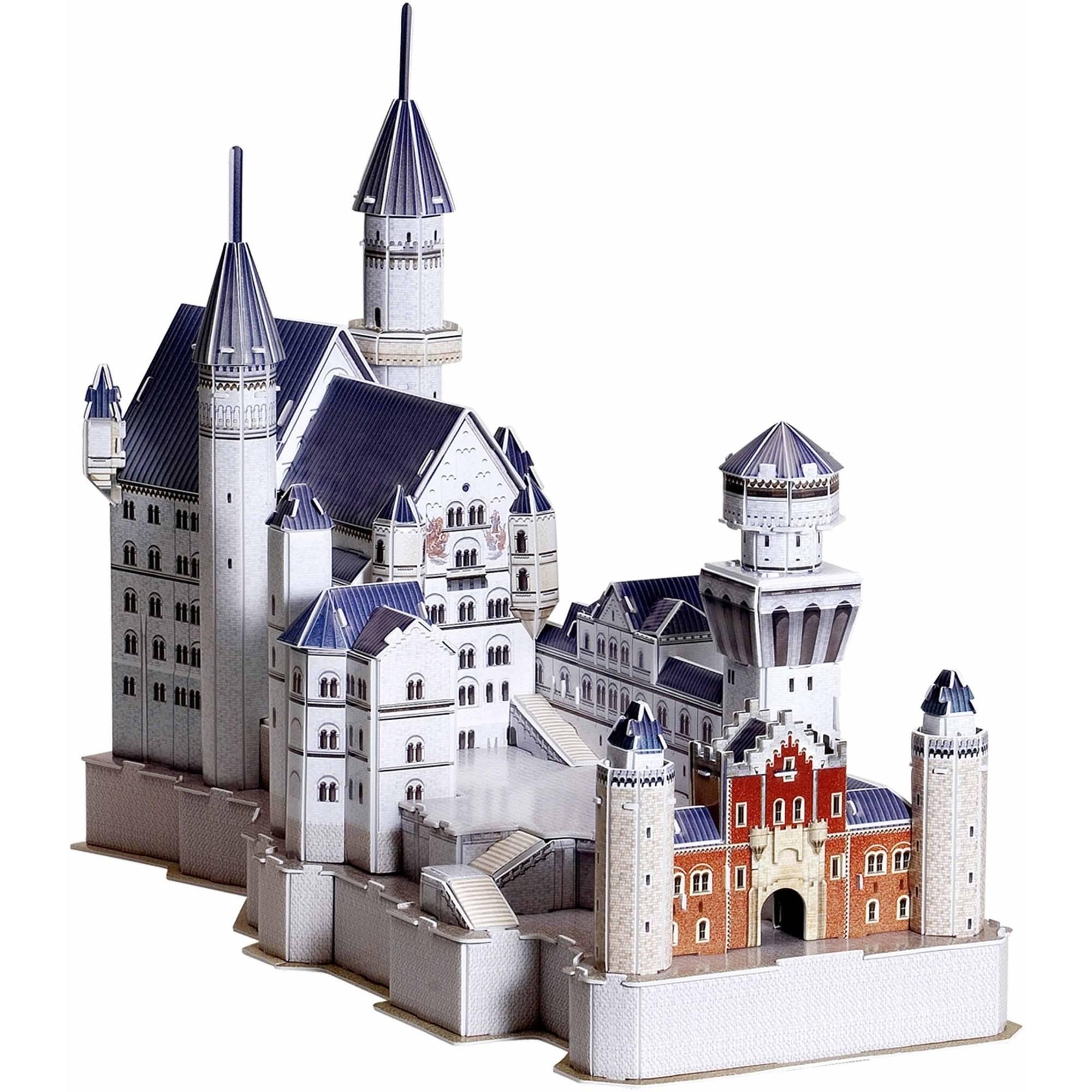 Neuschwanstein Castle 3D Puzzle, 99 Pieces