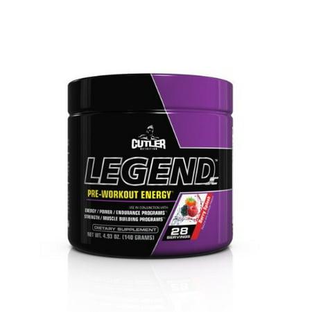 Cutler Nutrition Légende pré-entraînement Formule énergie, Berry Splash, 4,93 par BPI Sports Ounce