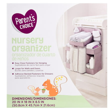 Parent's Choice Nursery Organizer