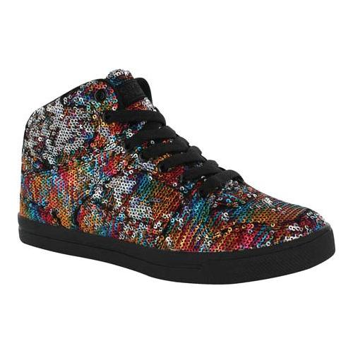 gotta flurt 3/4 top sneaker, multi/black, 13