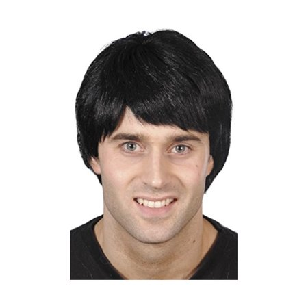 Smiffys Men's Short Black Guy Wig, One Size, 5020570421758 - image 1 de 1