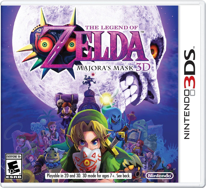 The Legend of Zelda: Majoras Mask 3D, Nintendo, Nintendo 3DS, 045496742805