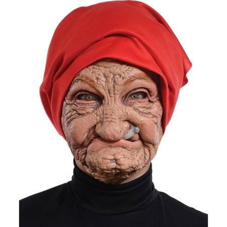 Old Nana Latex Mask Adult Halloween Accessory - Make Your Own Latex Halloween Masks