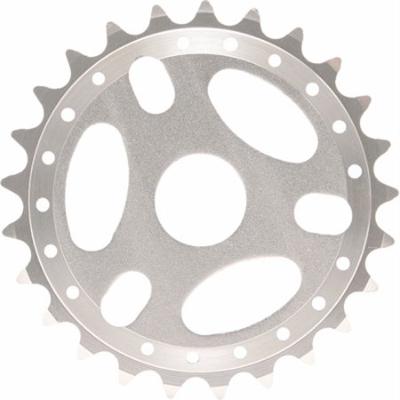 Chrome Bicycle 25 T Sprockets Replacement Part Bmx Bike 23.8 Mm Metric