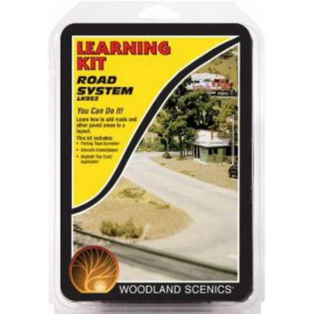 - Road System Learning Kit, Includes highly-detailed pieces. By Woodland Scenics