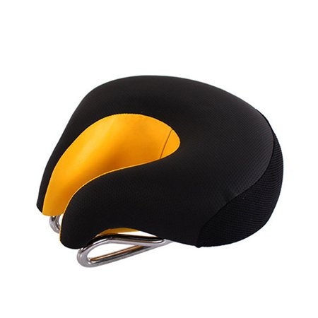 - MTB Mountain Bike Cycling Bicycle Comfort Split-Nose Saddle Cushion Pad Seat