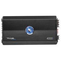 Planet Audio PL4000.1D Pulse 4000 Watt, 1 Ohm Stable Class D Monoblock Car Amplifier with Remote Subwoofer Control