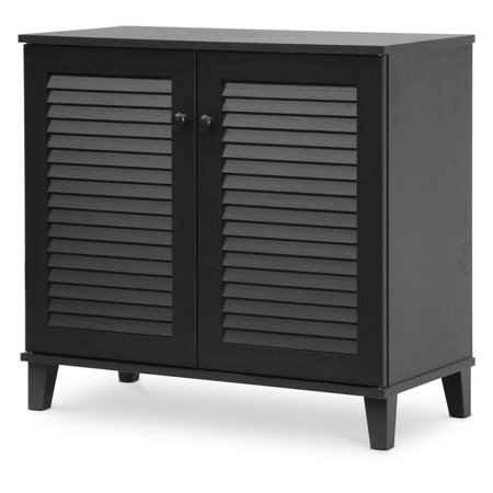 - Baxton Studio Coolidge Shoe Storage Cabinet