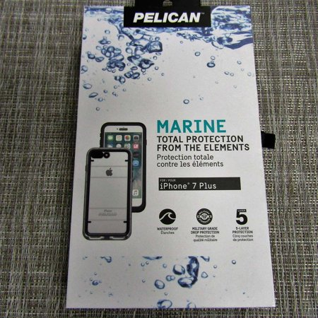 designer fashion 5925e 1cae1 Pelican Marine Total Protection for the iPhone 7 Plus