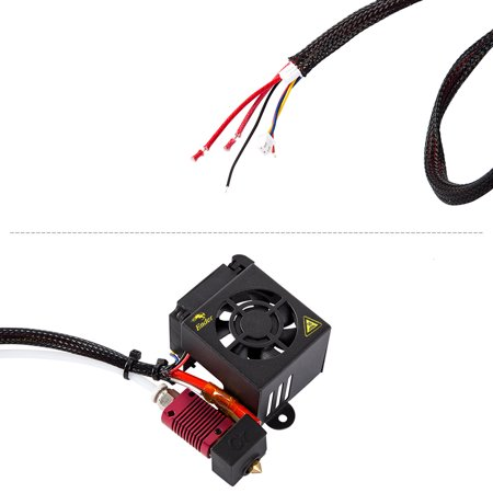 Creality 3D Ender-3 Official Full Assembled Extruder Kit 3D Printer Parts Accessories for / Ender-3s/ Ender-3 Pro 3D Printer - image 3 of 7