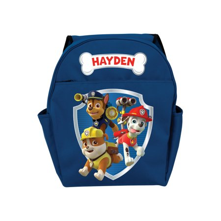 Personalized PAW Patrol Boy's Toddler Backpack - Personalized Kids Back Packs