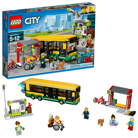 lego city town bus station 60154. Black Bedroom Furniture Sets. Home Design Ideas