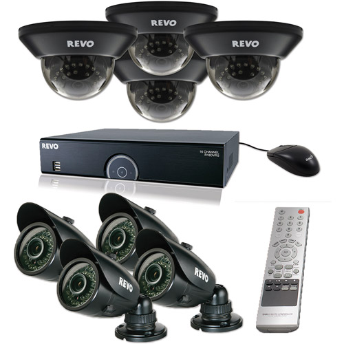 Revo 16-Channel 2TB 960H DVR Surveillance System with Eight 700TVL 100' Night Vision Cameras