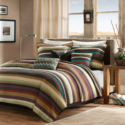 Home Essence Reyes 6-Piece Quilt Set
