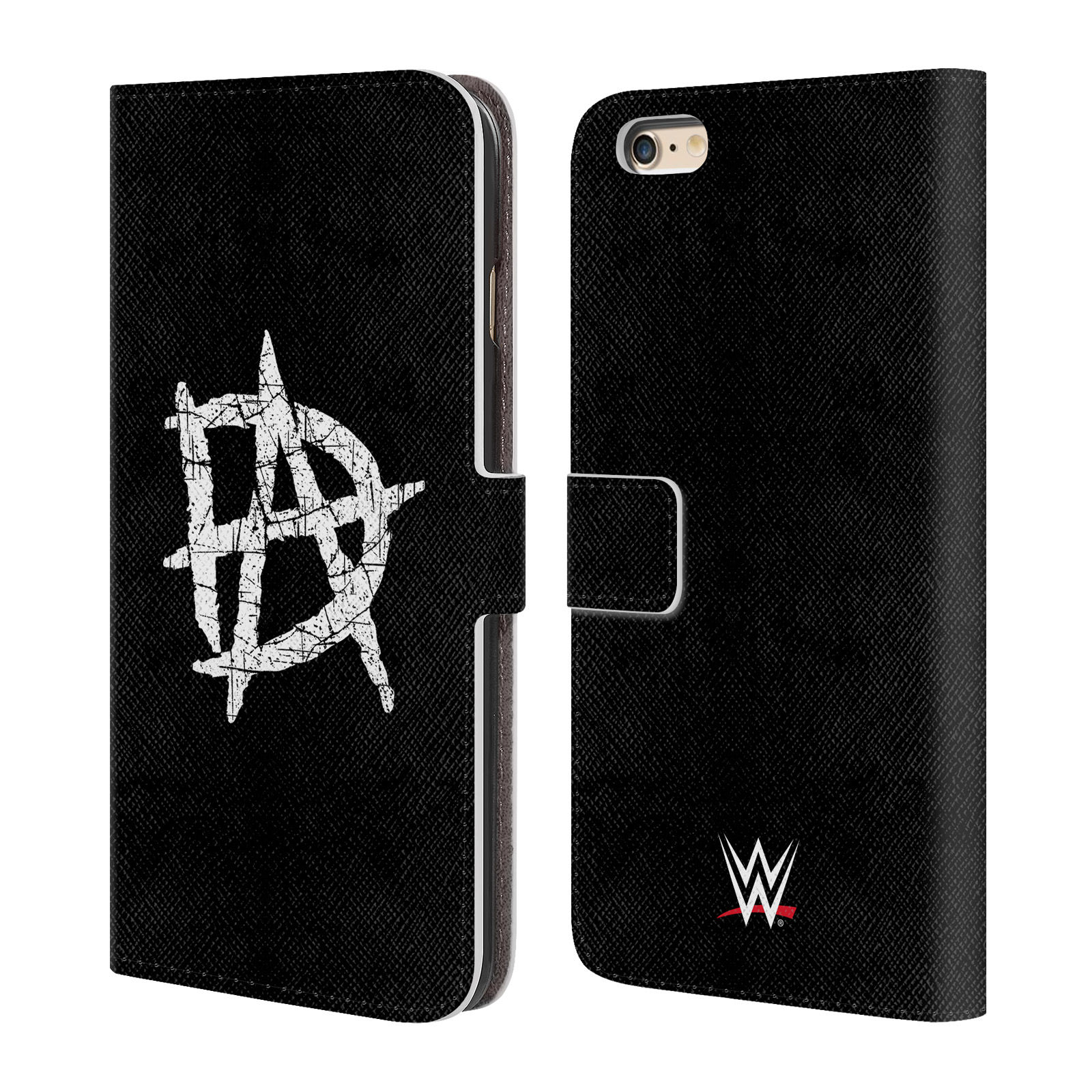 OFFICIAL WWE DEAN AMBROSE LEATHER BOOK WALLET CASE COVER FOR APPLE IPHONE PHONES