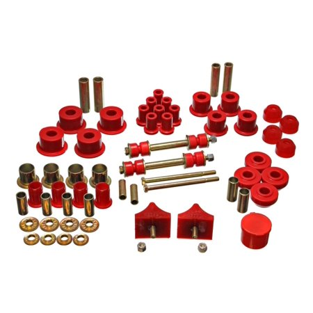Energy Suspension 66-76 Chrysler A Body - Dart/Demon/Duster/Valiant Red Hyper-flex Master Bushing (Energy Suspension Tahoe Bushings)