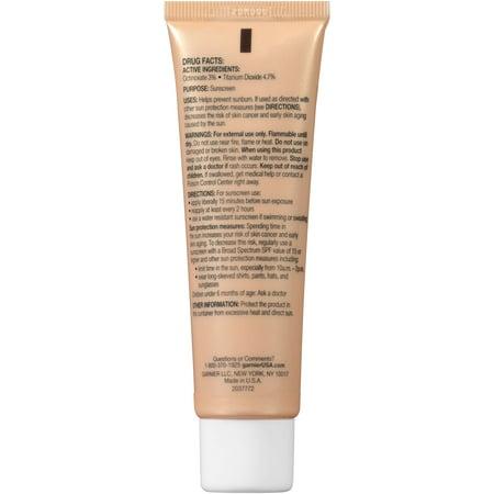 SkinActive BB Cream Sunscreen Oily/Combo Skin Medium/Deep, 2.0 FL OZ