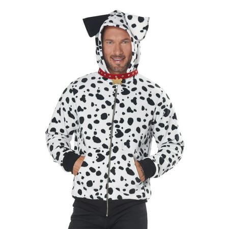 Dalmatian Homemade Costume (Dalmatian Hoodie Adult)